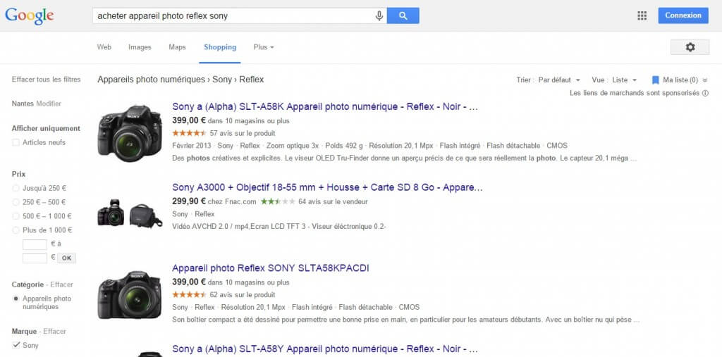 Google Shopping Comparateur Prix