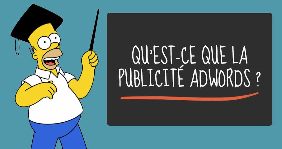Qu'est ce que la publicité AdWords ?