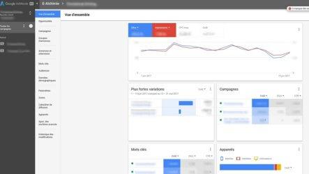 Découvrez la nouvelle interface AdWords et ses fonctionnalités