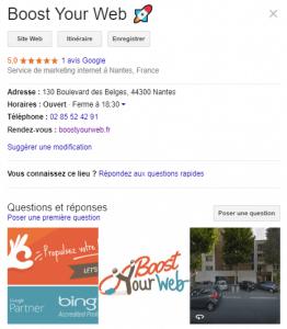 Profil Boost your web