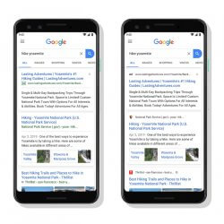 Découvrez la nouvelle apparence des résultats Google !