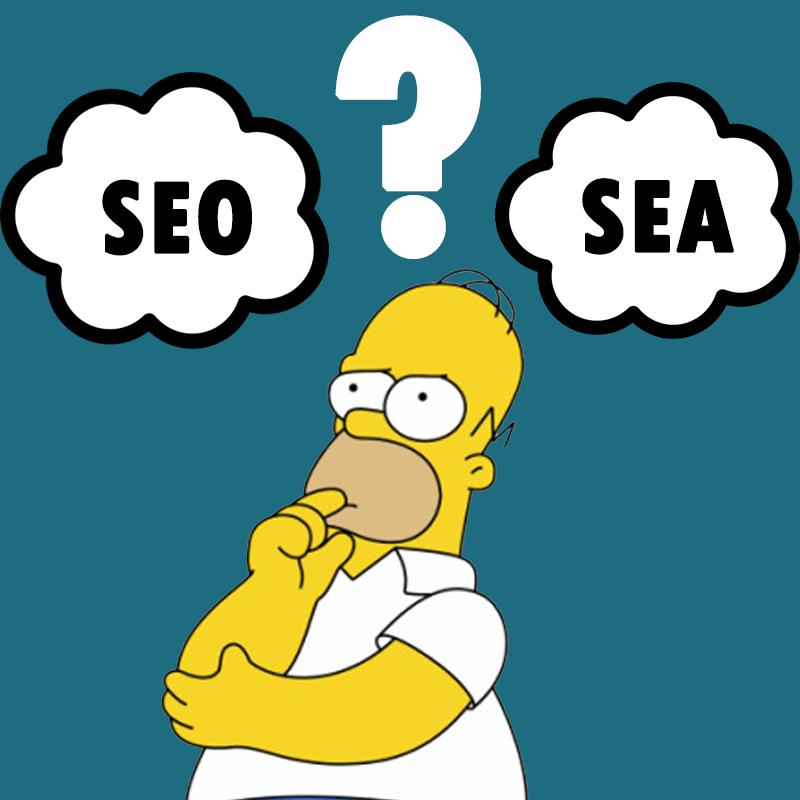 Que choisir entre SEA et SEO