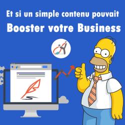 Et si un simple contenu pouvait Booster votre Business
