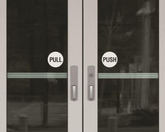 Pousser - Tirer porte