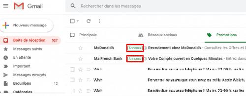 publicité google ads gmail
