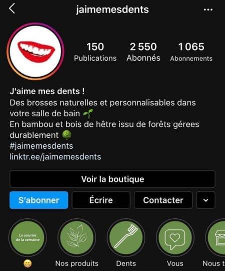 erreurs optimisation instagram