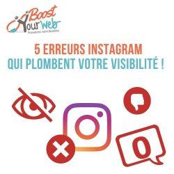 5 erreurs à ne pas commettre pour optimiser votre référencement sur Instagram