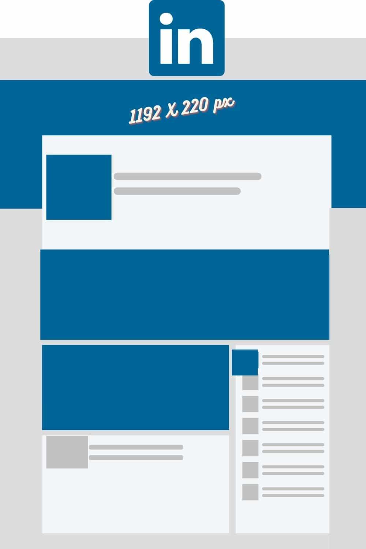 taille image de couverture LinkedIn