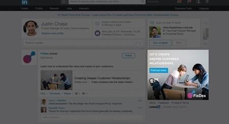 publicité display linkedin ads