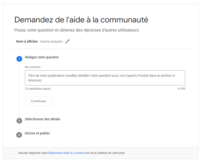 Contacter Google Ads