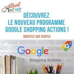 Qu'est-ce que Google Shopping Actions ?
