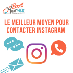Comment contacter le support Instagram ?