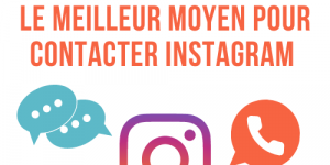 comment contacter le support instagram