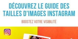 Guide taille photo instagram