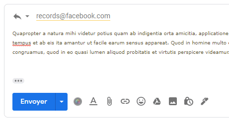 contacter support facebook ads