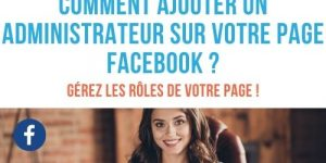 ajouter administrateur page facebook