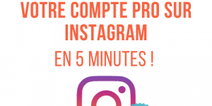 créer compte instagram pro