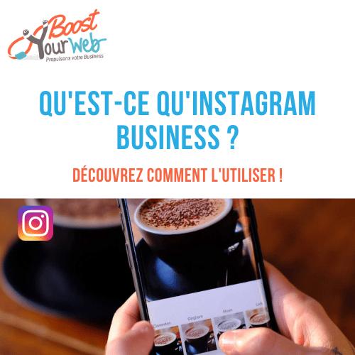 Instagram business définition