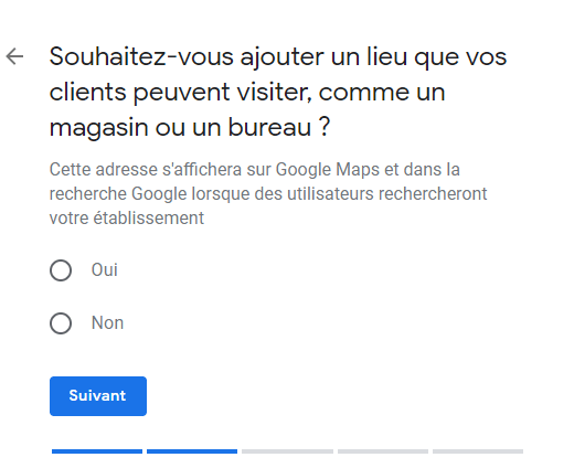 compte Google My business