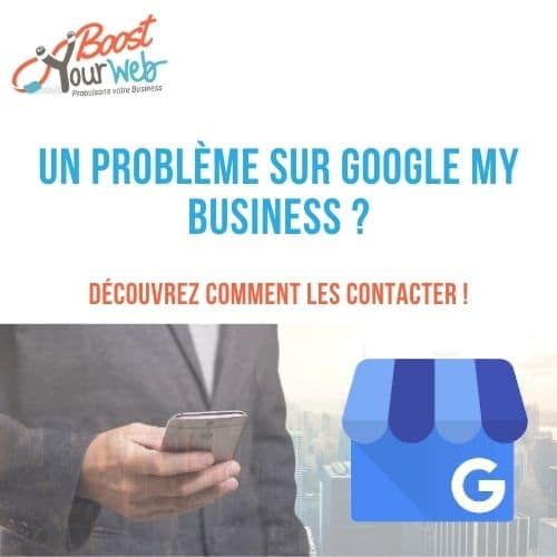 contacter Google My Business