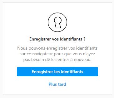 probleme instagram connexion