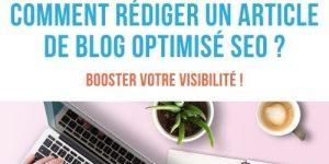 rédiger article de blog optimisé
