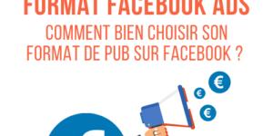 différents formats facebook ads