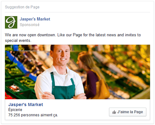 format visuel facebook ads