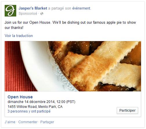 formats visuel facebook ads