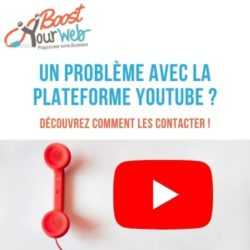 Comment contacter YouTube ?