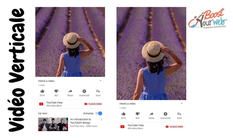 format vidéo YouTube iPhone