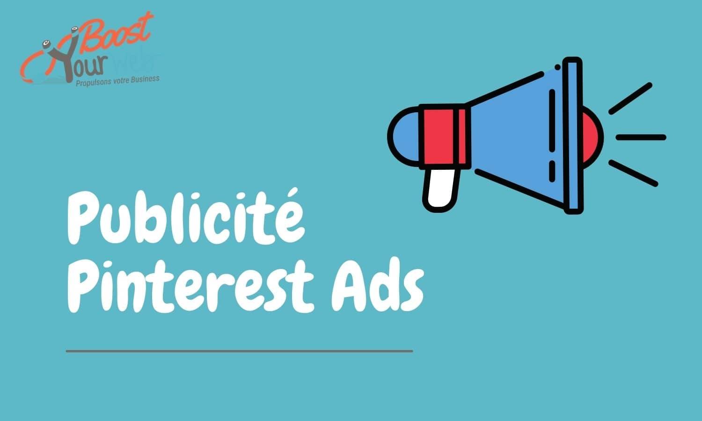 publicité Pinterest