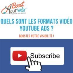 Quels sont les formats YouTube Ads ?