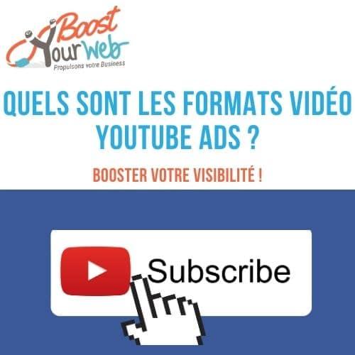 format vidéo YouTube ads
