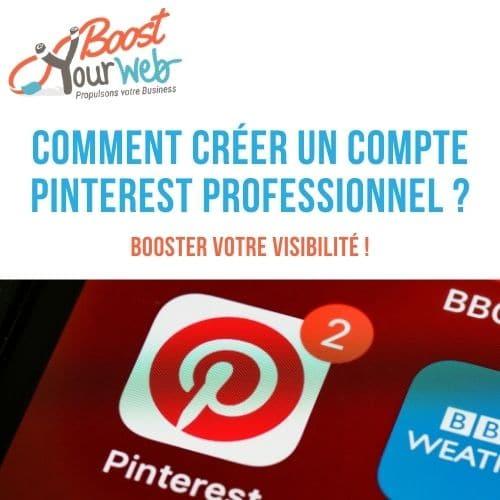 comment créer un compte Pinterest professionnel