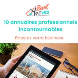 10 annuaires professionnels incontournables pour votre référencement local