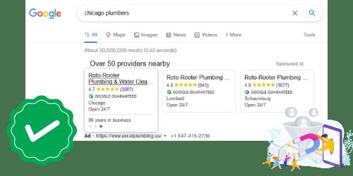 tarif google my business